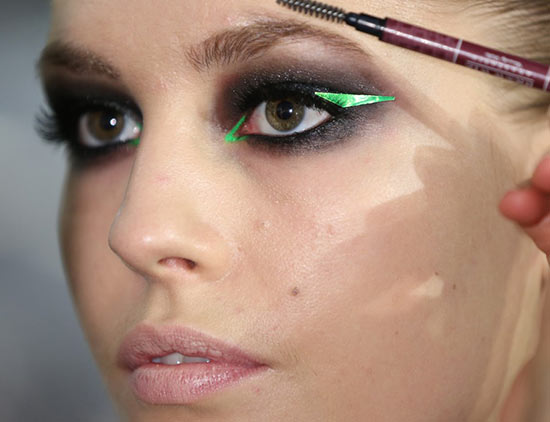 Versace Spring 2013 Couture runway makeup
