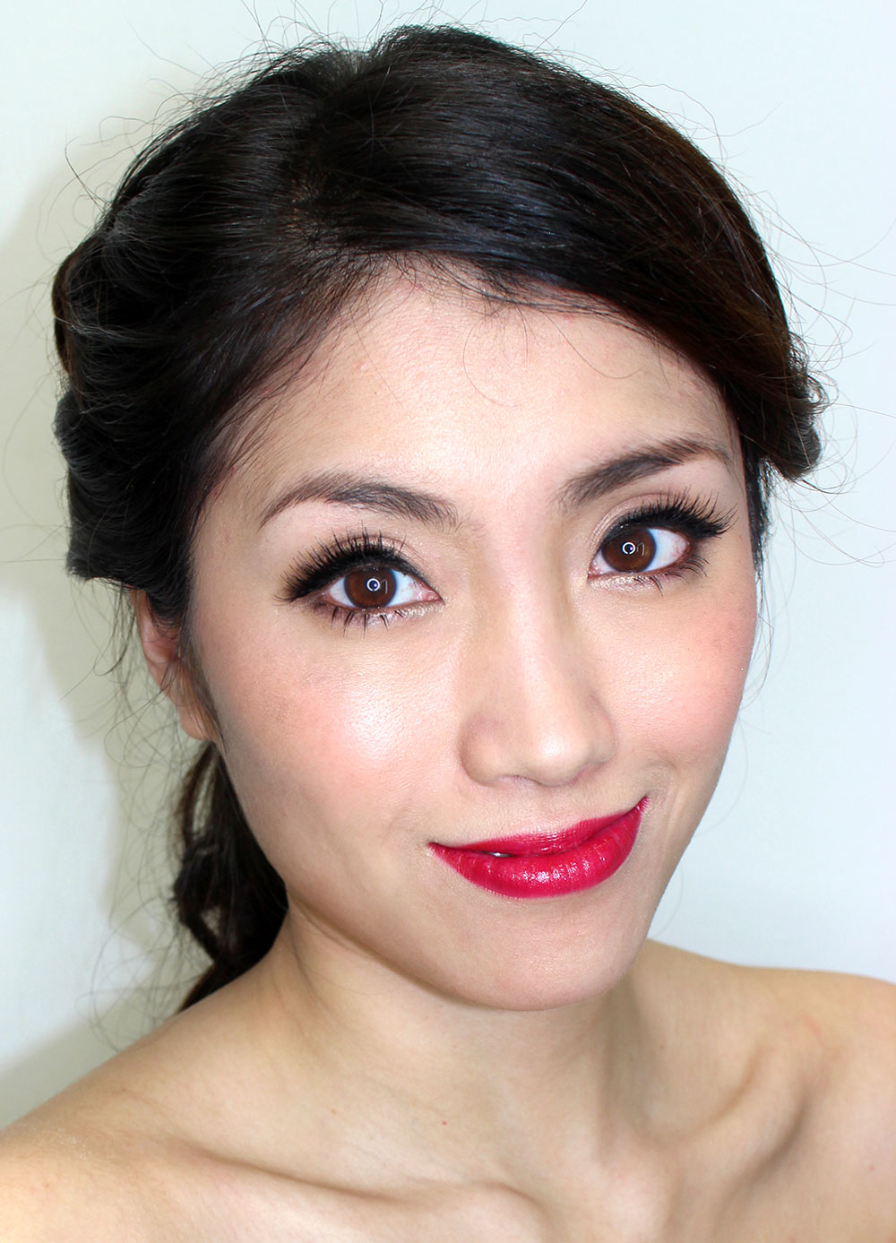 asian-bridal-makeup-red-lips