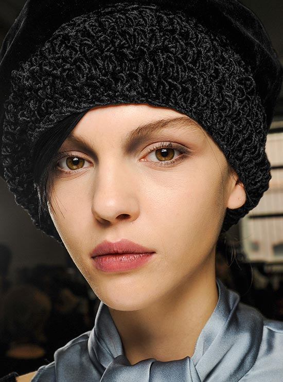 Sculpted Eyes at Giorgio Armani A/W 2013