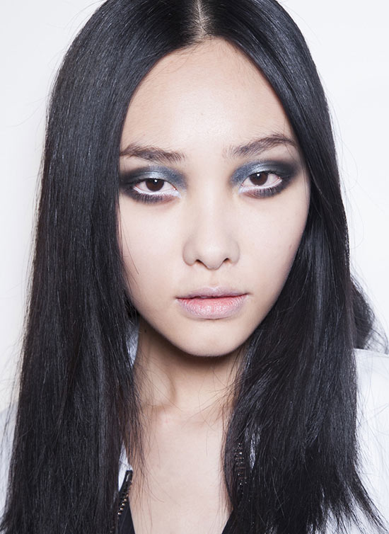 Gothic Makeup at Jean Pierre Braganza Fall 2013