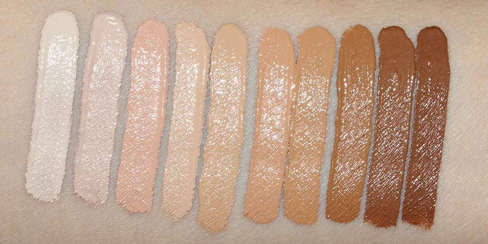 NARS Radiant Creamy Concealers swatches