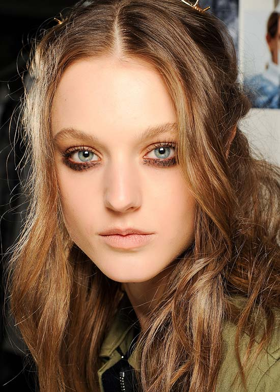 Rodarte Fall 2013 runway beauty