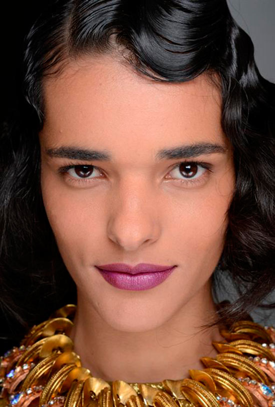 Tia Cibani Fall 2013 Beauty look