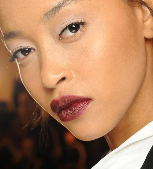 Zac Posen Fall 2013 Runway Beauty