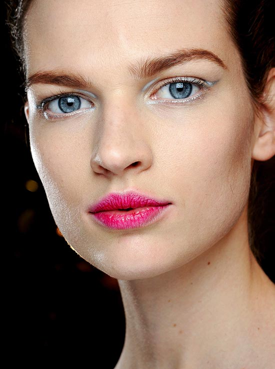 Dior Fall 2013 runway makeup