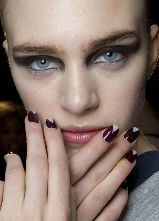Roland Mouret Fall 2013 runway beauty