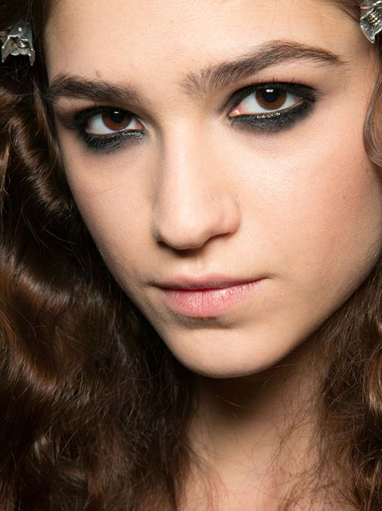 Smoky Eyes at Just Cavalli A/W 2013