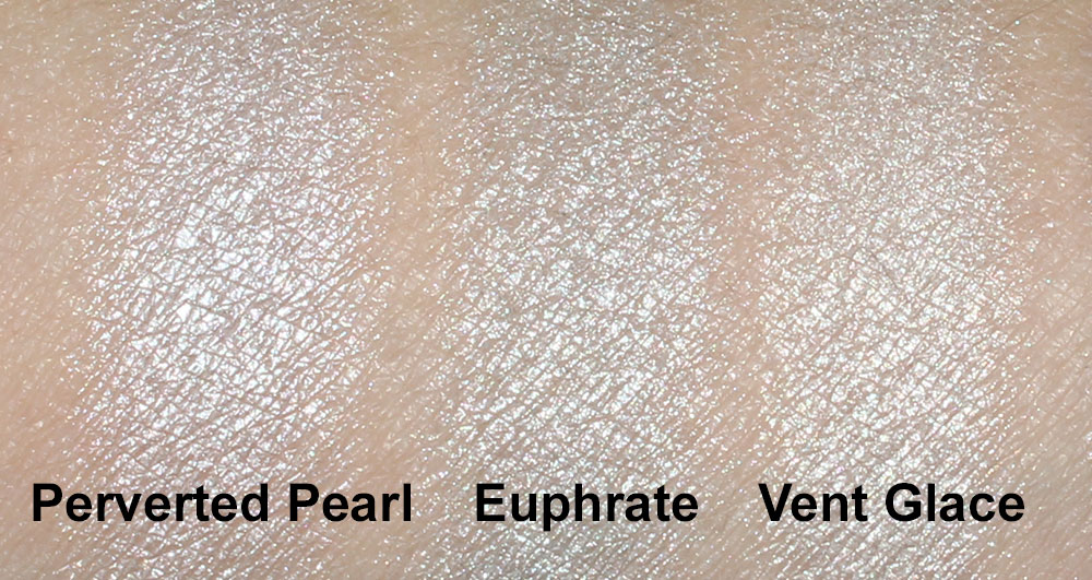 NARS Euphrate Eyeshadow swatch comparisons