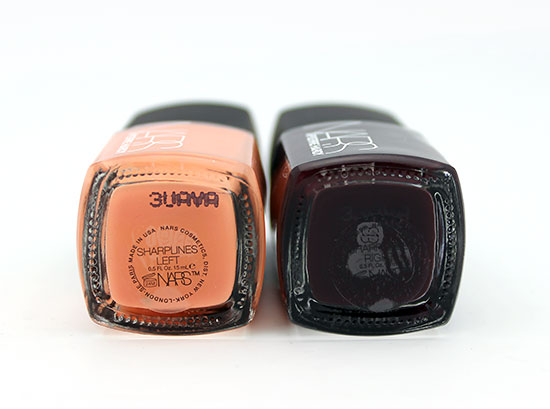 Closeup of NARS Pierre Hardy Sharplines Nail Polish Duo