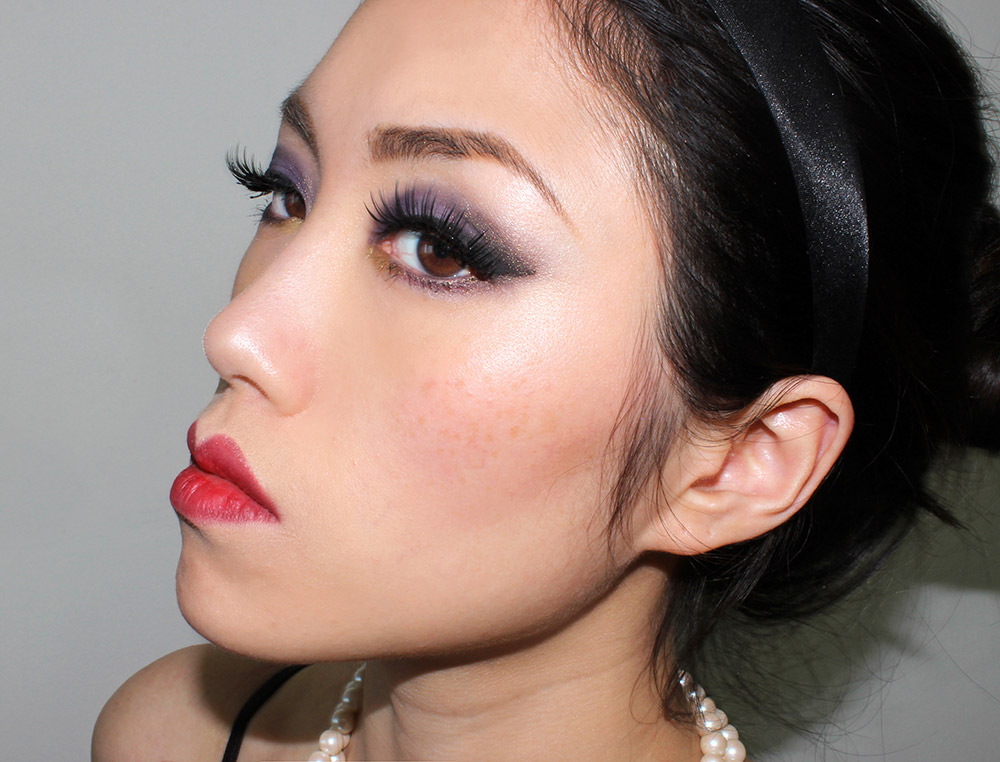 20s Flapper Makeup Face Of The Day. '