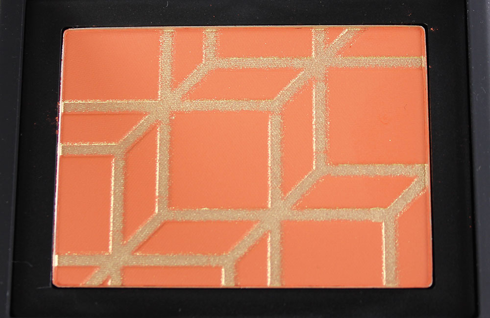 Closeup of Pierre Hardy For NARS Rotonde High Voltage Blush Palette