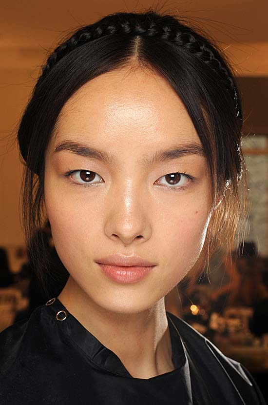 Valentino Fall 2013 Couture show runway beauty