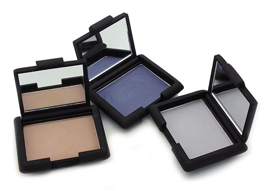 NARS Yamal, Kamchatka and Namibia Single Eyeshadows reviews