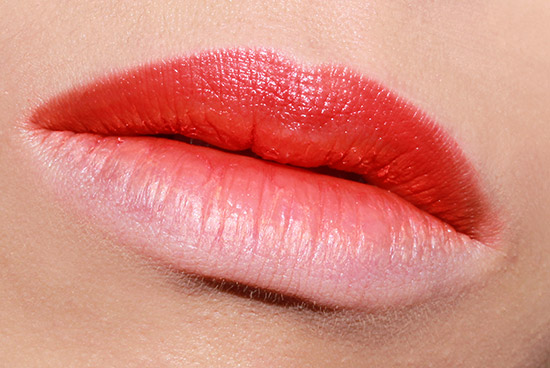 Ombre lips with OCC Pyscho Lip Tar