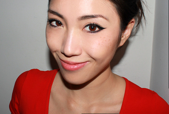 Wearing NARS Radiant Cream Compact Foundation in Fiji