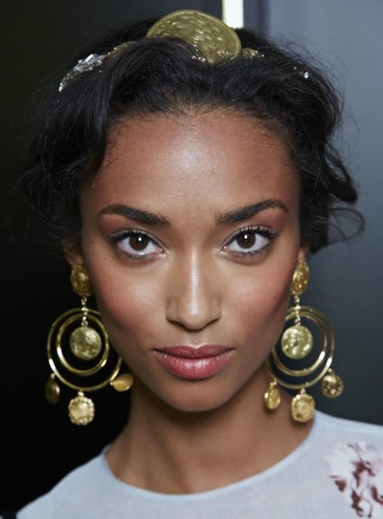 Dolce & Gabbana S/S'14 runway makeup look