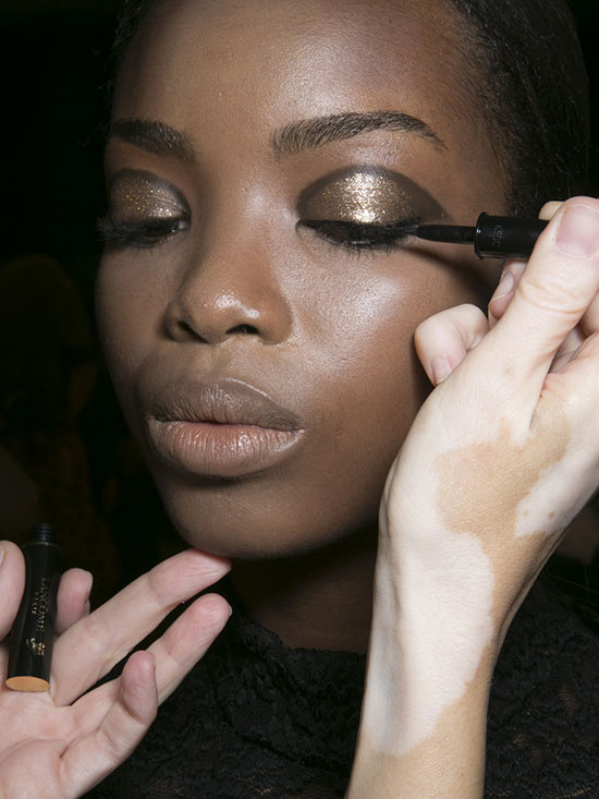 Glitter Eye at Jason Wu S/S 2014
