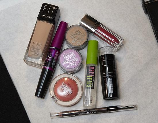 Mara Hoffman S/S 2014 backstage makeup by Maybelline