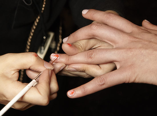Mara Hoffman S/S 2014 nail look