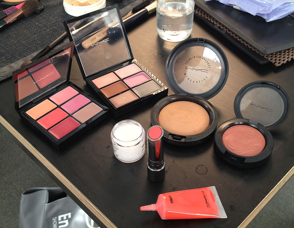 MAC Cosmetics backstage at Sophie Theallet Spring/Summer 2014