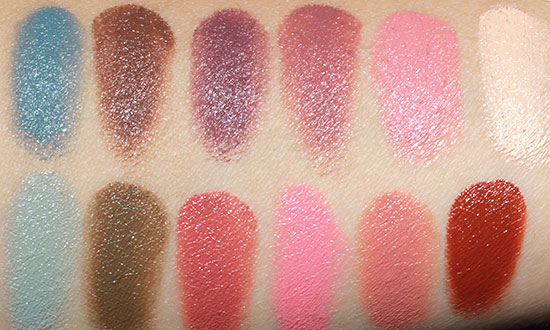 Make Up For Ever Neutral 12 Flash Color Case swatches
