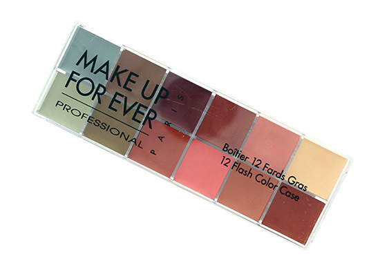Make Up For Ever 12 Flash Color Case in Neutral