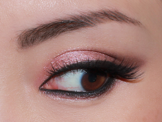 Wearing Urban Decay Burnout, Darkside and Strange Eyeshadows from Naked 3 Palette