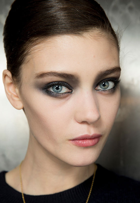 Armani Prive Spring 2014 Couture runway beauty