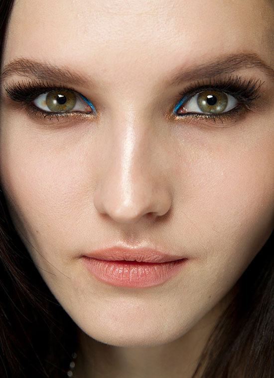 Atelier Versace Spring 2014 Couture runway makeup