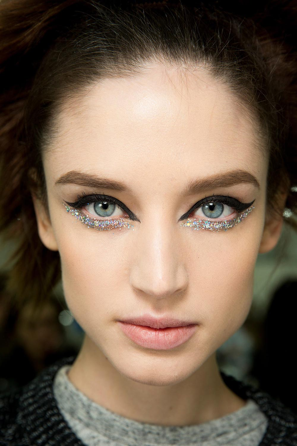 Chanel Spring 2014 Couture runway makeup