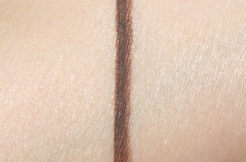 Swatch of Anastasia Dipbrow Pomade in Dark Brown