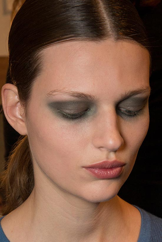 Derek Lam A/W '14 backstage makeup