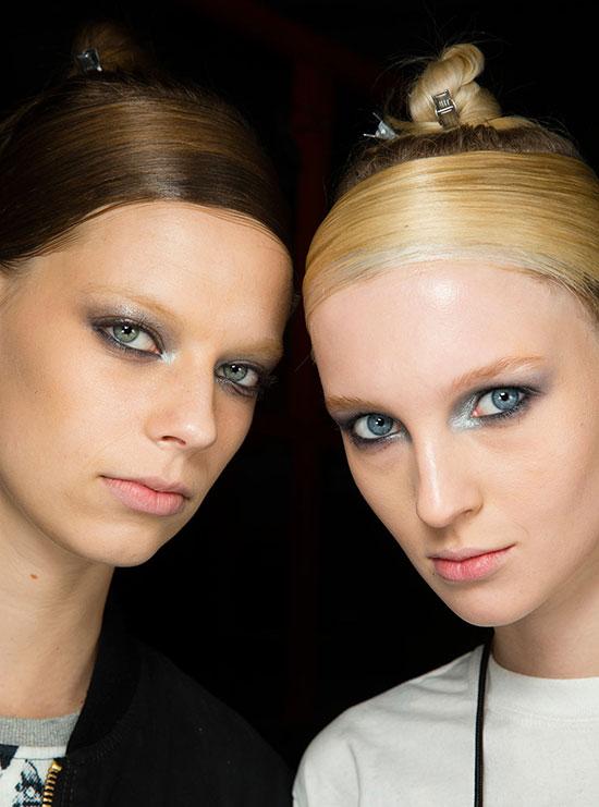 Donna Karan A/W '14 runway beauty