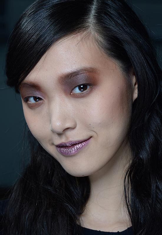 Glitter Lips At Rodarte A/W '14