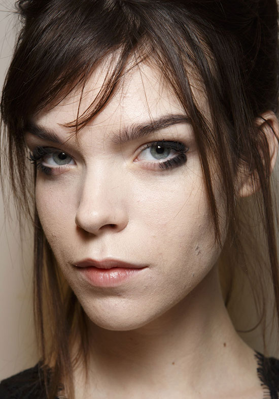 Graphic eye makeup at Missoni A/W '14