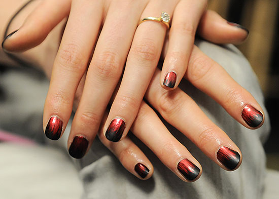 Nicole Miller A/W '14 runway nails by butter LONDON