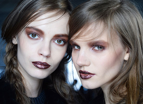 Rodarte A/W '14 runway beauty