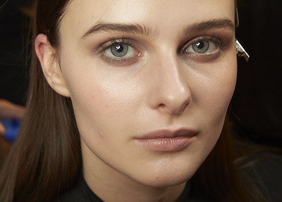 Wes Gordon A/W '14 runway beauty