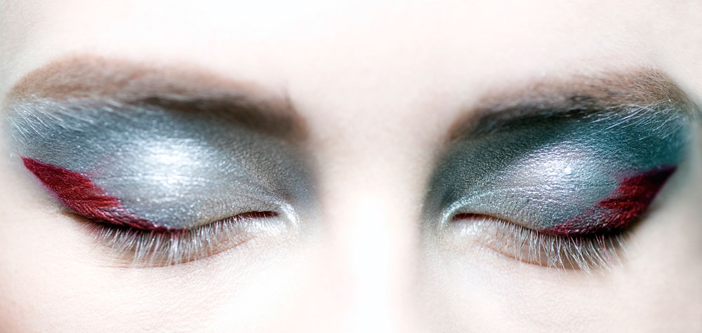 Chanel A/W '14 backstage makeup