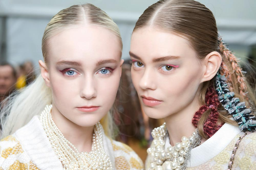 Chanel A/W '14 runway beauty