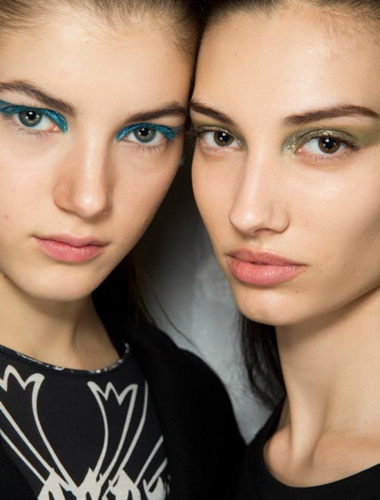 Dior A/W '14 runway beauty