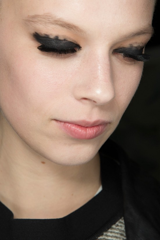 Graphic Smudgy Eye at Lanvin A/W '14