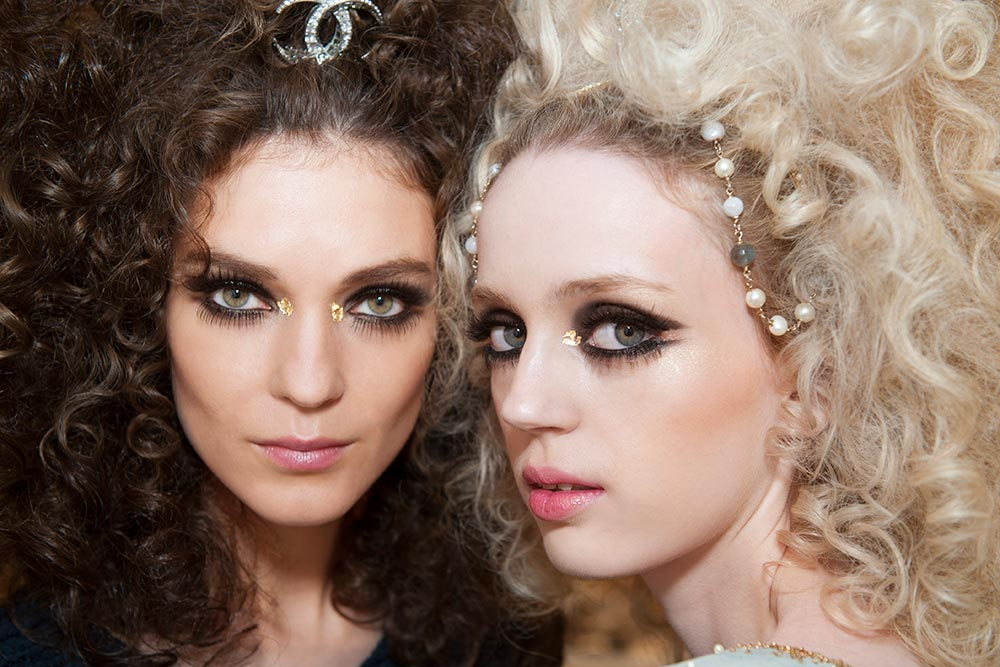 Chanel Resort 2015 runway makeup look