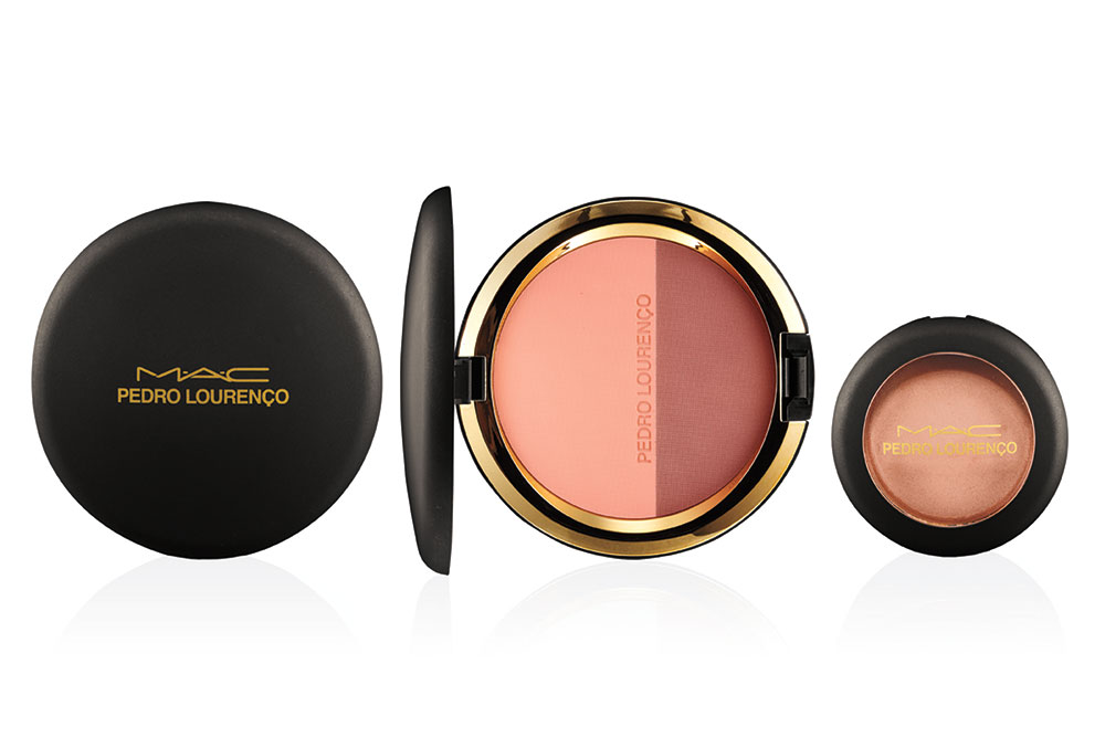 MAC Pedro Lourenco Corol Powder Blush Duo and Hush Cream Colour Base