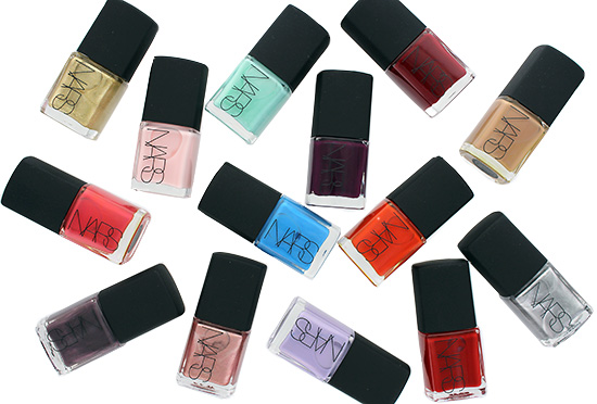 NARS Nail Polish Reformulated for Fall 2014