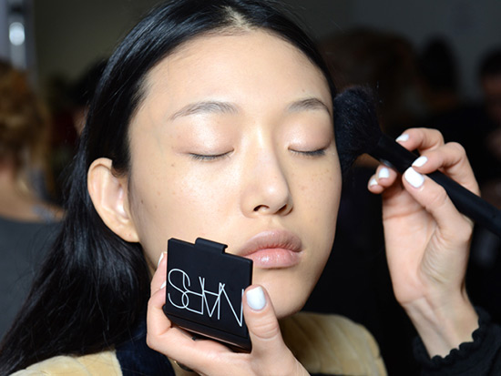 3.1 Phillip Lim Spring/Summer 2015 backstage makeup by NARS