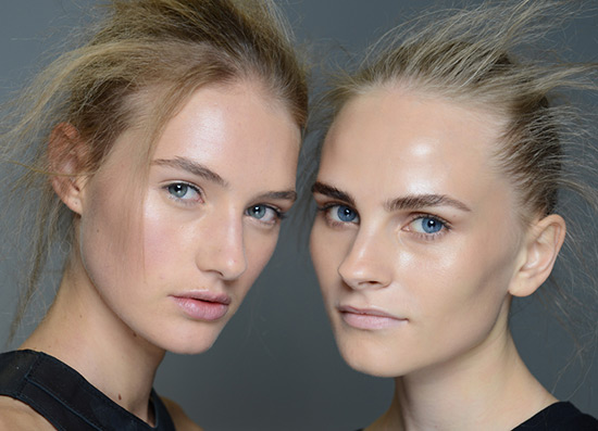 3.1 Phillip Lim Spring/Summer 2015 runway beauty