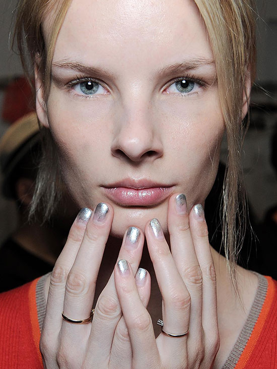 Creatures Of The Wind Spring/Summer 2015 makeup and nails