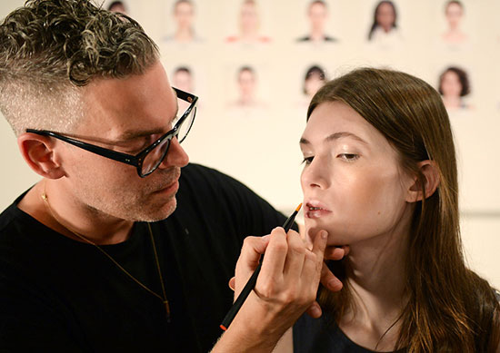 Creatures Of The Wind Spring/Summer 2015 backstage with NARS