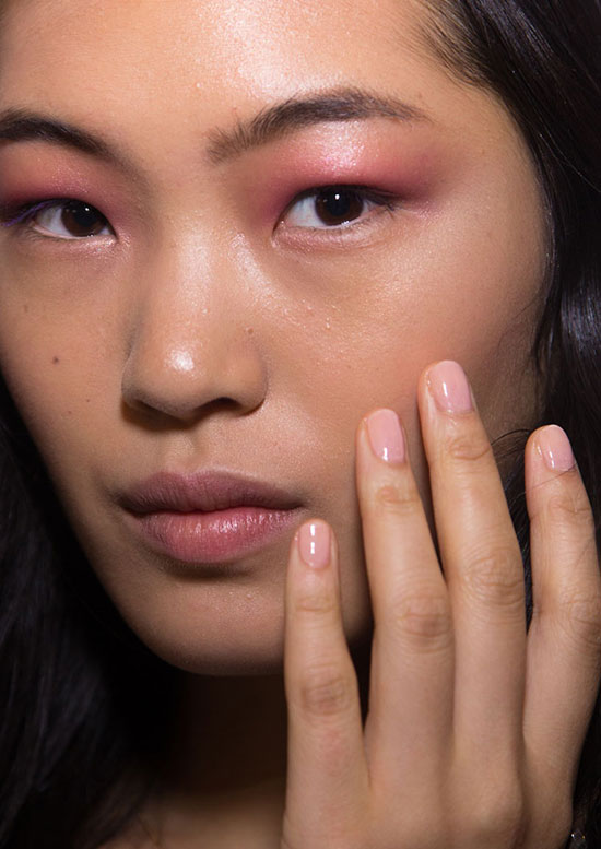 Derek Lam Spring/Summer 2015 runway beauty